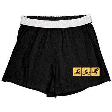 Triathlon Shorts w/Back