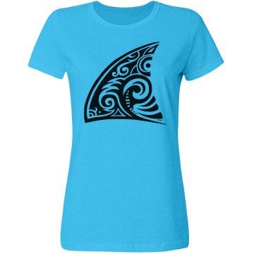 Tribal Art Shark Fin