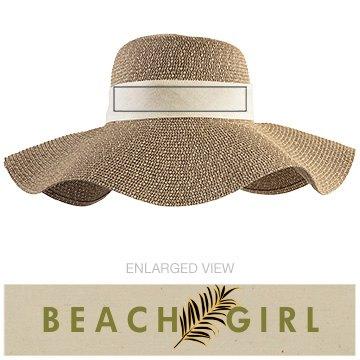 Tropical Beach Girl