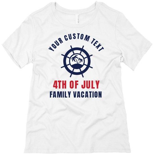 Tropical Custom Family Reunion Tee