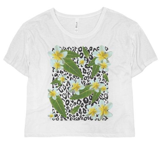 Tropical Floral Leopard