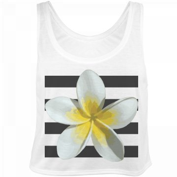 Tropical Flower Stripe