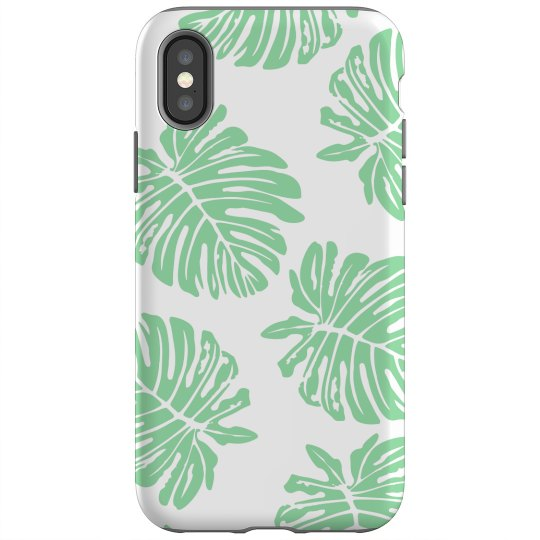 Tropical Monstera Leaf Pattern