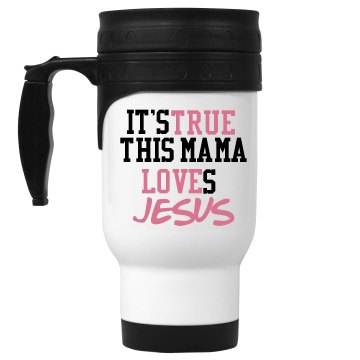 True love jesus mug