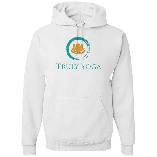 Truly Yoga Hoodie (Light grey)