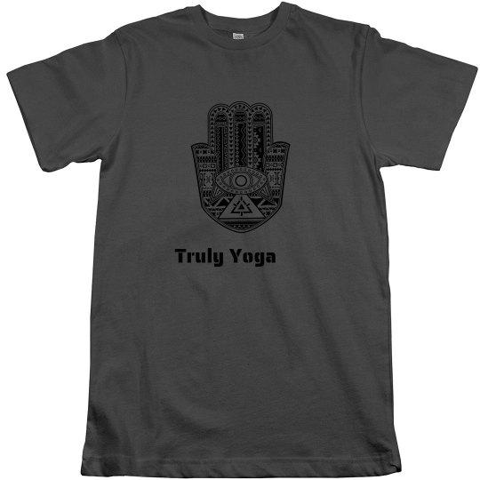 Truly Yoga Men/Unisex Hamsa T-Shirt