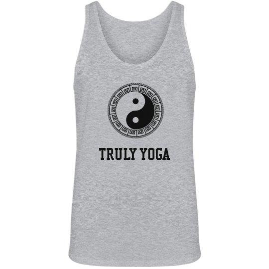 Truly Yoga Men/Unisex Tank (Yin/Yang)