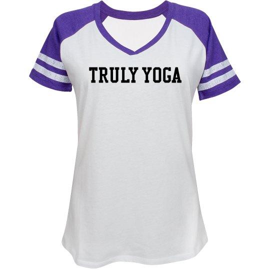 Truly Yoga Sports Tee