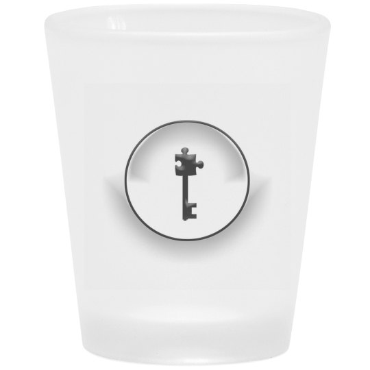 T.R.U.T.H Logo shot glass (frosted)