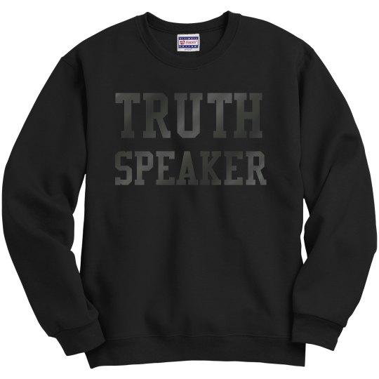 Truth Speaker Sweater