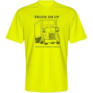 TTOA Facebook Group TRUCK EM UP 10-4 T-Shirt