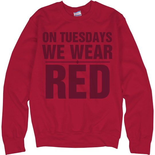 Tuesdays Red