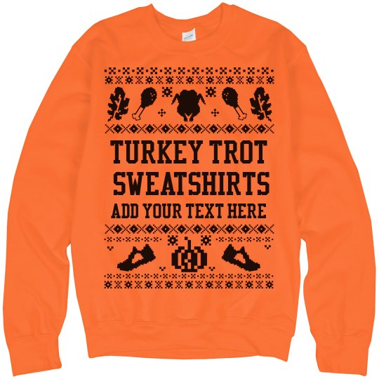 Turkey Trot Custom Ugly Sweaters