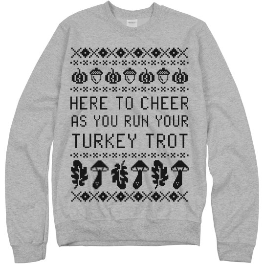 Turkey Trot Ugly Sweater