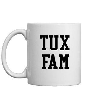 Tux Fam Coffee Mug