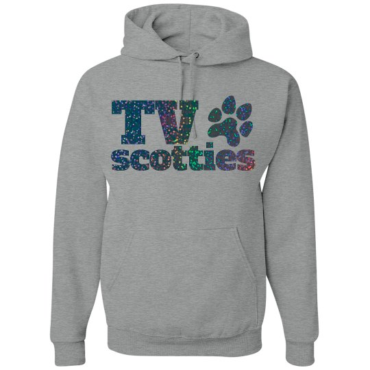 TV Glitter Hoodie #2