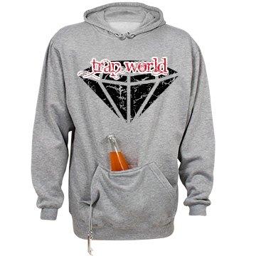 TWA - Diamond Logo Grey Hoodie