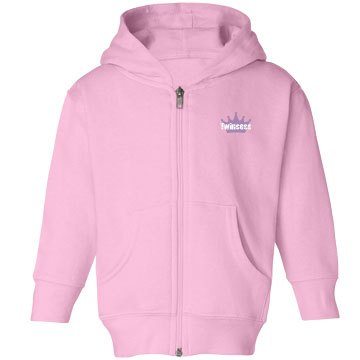 Twincess Toddler Girls Hooded Sweatshirt