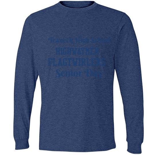 Twirler Senior Day Men's Long Sleeve