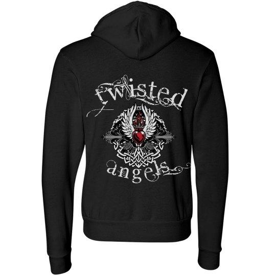 Twisted Angels Black Hood