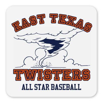 Twisters Team Magnet