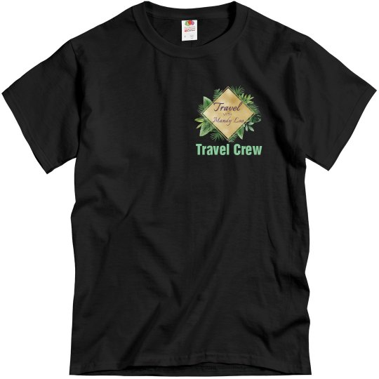 TWML- Bold Black Tee
