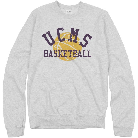UCMS Basketball sweatshir