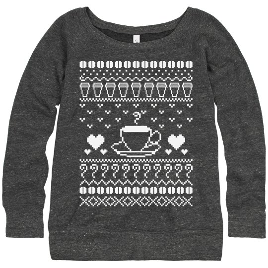 Ugly Coffee Sweater