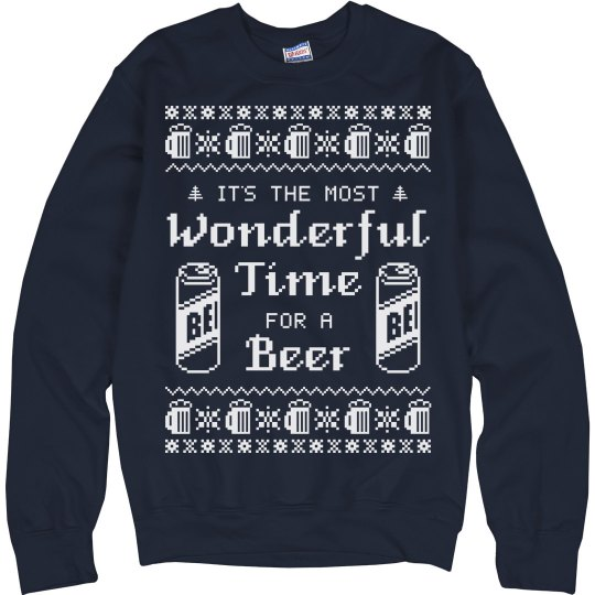 Ugly Sweater Have A Beer