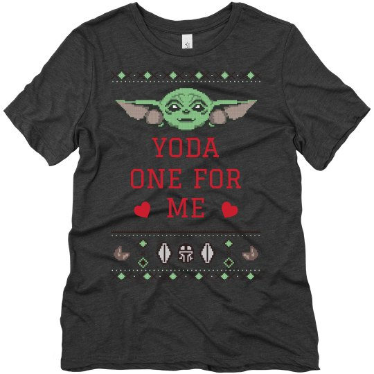 Ugly Sweater Valentine Baby Tee