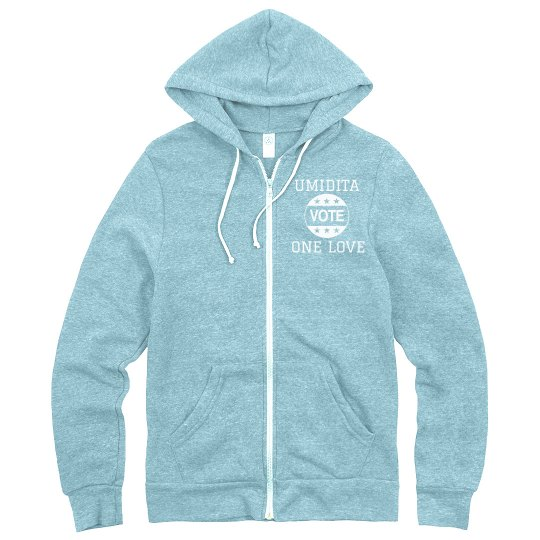 Umidita One Love Zip Up Hoodie