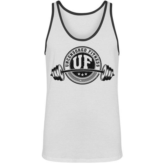 Uncensored Fitness Logo Tank Mens