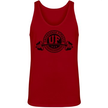 Uncensored Fitness Logo Tank-Mens