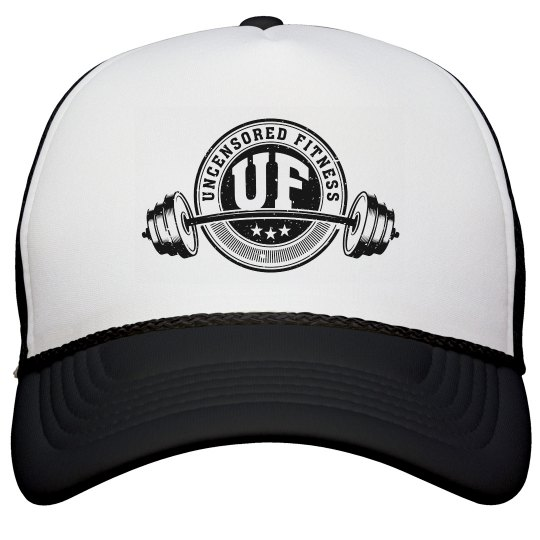 Uncensored Fitness Logo Trucker Hat