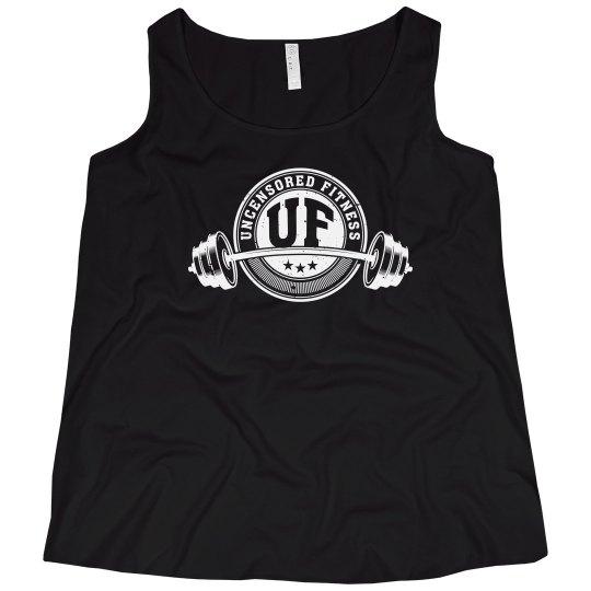Uncensored Fitness Tank Womens Plus