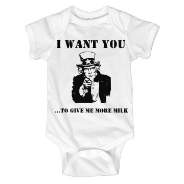 Uncle Sam Onesie