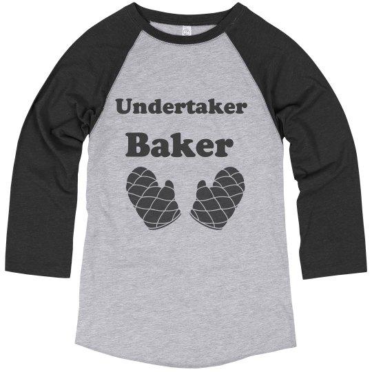 Undertaker Baker Baseball T-Shirt