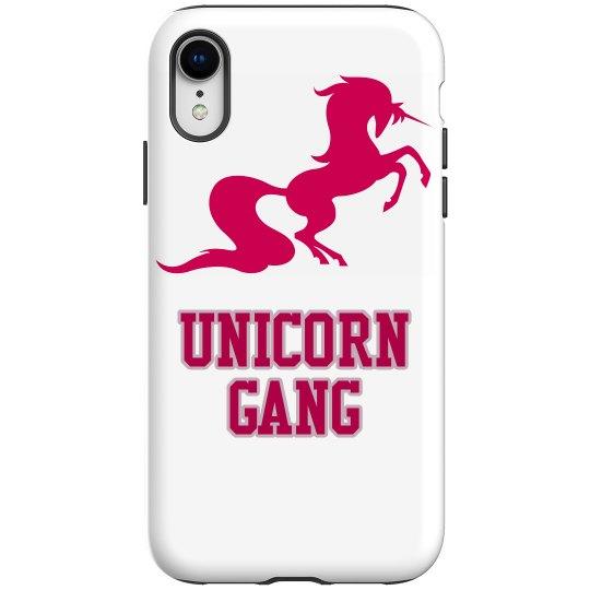 Unicorn iphone XR tough case