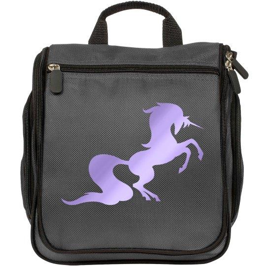 Unicorn makeup bag