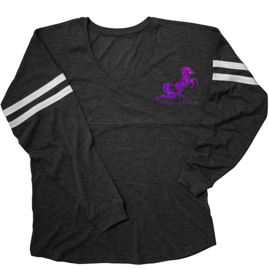 Unicorn varsity shirt