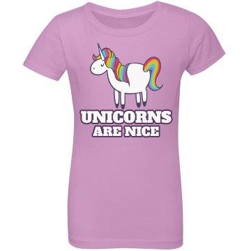 Unicorns Are Nice
