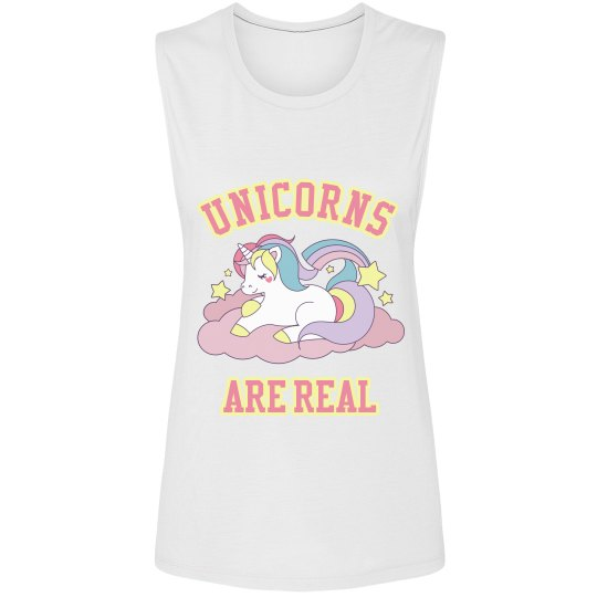 Unicorns Are Real Muscle Tank