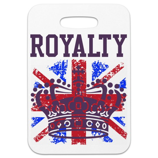 Union Jack and Crown Bag Tag