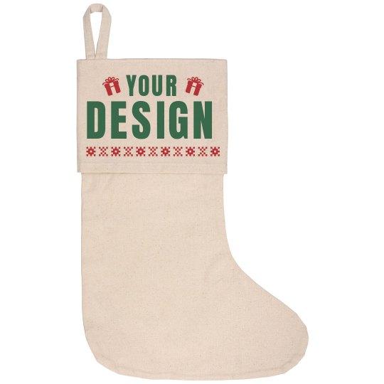 Unique Custom Christmas Stocking