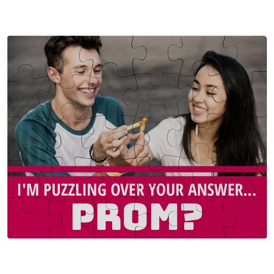 Unique Custom Photo Prom Promposal