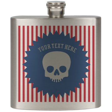 Unique Goth Drinking Flask | One More Shot
