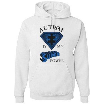 Unisex Autism POWER Hoodie