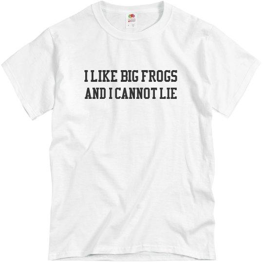 Unisex Big Frogs T