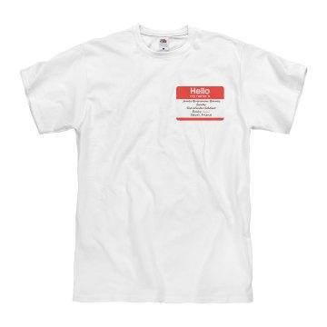 Unisex Bucky Name Shirt