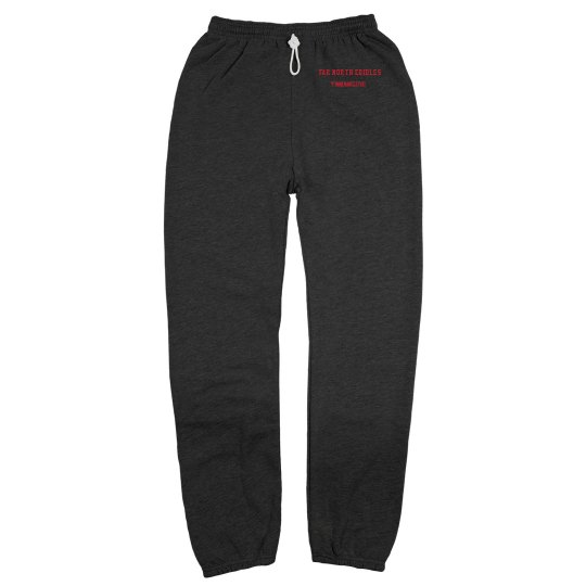 Unisex Canvas Long Scrunch Fleece Sweatpants